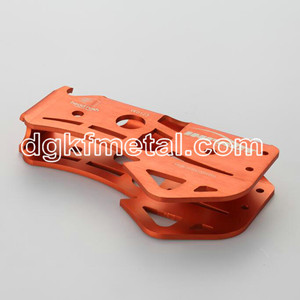 Aluminum prcesion stamping part on climbing equipment
