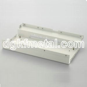 Aluminum protecting enclosure
