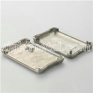 Die Cast Aluminum top & cover