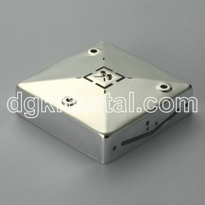 Brass box tin plating part