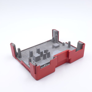 Aluminum alloy die casting parts case for router with tiger drylac
